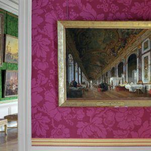 Robert Polidori: La Galerie des Glaces transformée en ambulance by Victor Buchereau, 1871 Salles du XIX, Attique du Nord, Aile du Nord – Attique